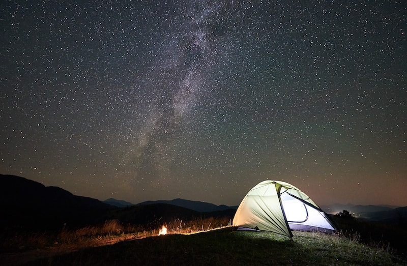 Camping décembre